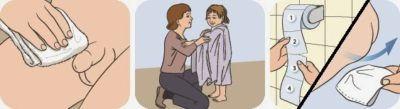 Щоденна особиста гігієна у дітей (в картинках)
