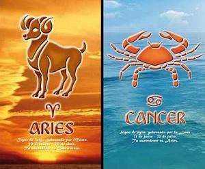 Сумісність знаків зодіаку Овен і Рак