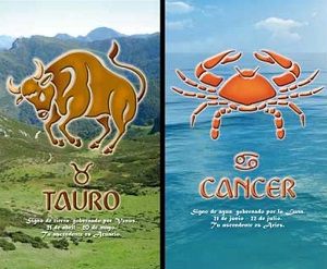 Сумісність знаків зодіаку Телець і Рак