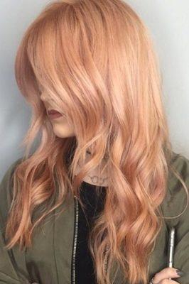 Золотий світлий колір волосся
