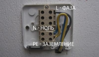 Підключення електричної плити