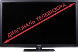 Як виміряти діагональ телевізора